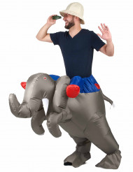 Déguisement éléphant gonflable adulte