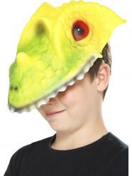 Masque tête de crocodile enfant