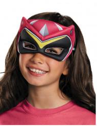 Demi-masque Power Rangers™ Dinocharge rose enfant