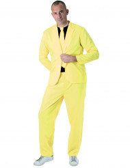 Costume fashion jaune fluo adulte