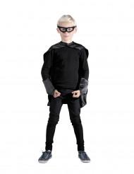 Kit super héros noir enfant