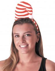 Serre-tête bonnet candy adulte