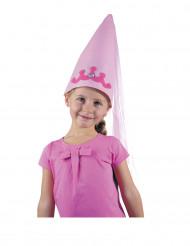 Chapeau petite fée rose fille