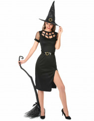 Déguisement Sorcière Sexy Noire Halloween Femme