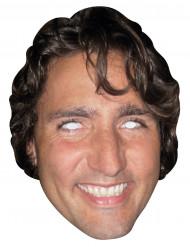 Masque carton Justin Trudeau