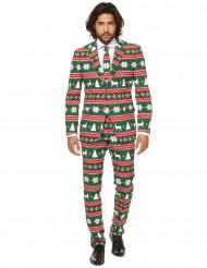 Costume Mr. Festive vert homme Opposuits™ Noël