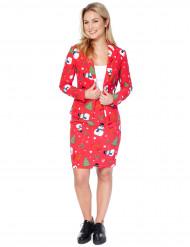 Costume Mrs. Snowmiss femme Opposuits™ Noël