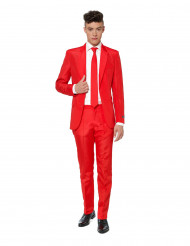 Costume Mr. Solid rouge homme Suitmeister™