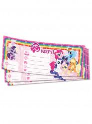 20 Cartes d'invitation My Little Pony ™