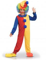 Déguisement clown bicolore enfant