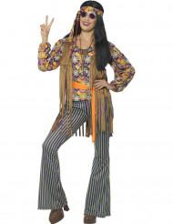 Déguisement chanteuse hippie années 60 femme