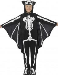 Déguisement squelette chauve-souris enfant Halloween