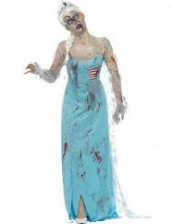 Déguisement zombie gelé femme Halloween