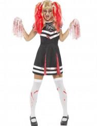 Déguisement pom-pom girl satanique femme Halloween