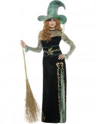 Déguisement sorcière émeraude femme Halloween