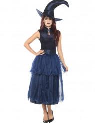 Déguisement sorcière de minuit femme Halloween