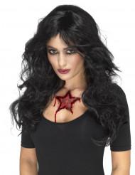 Tatouage temporaire occulte femme Halloween