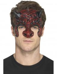 Prothèse en mousse latex diable adulte Halloween
