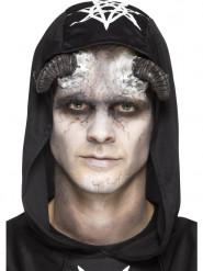 Prothèse latex cornes démon adulte Halloween
