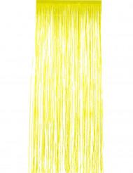 Rideau scintillant jaune