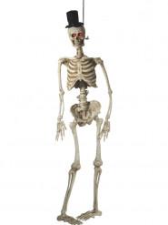 Décoration à suspendre animée marié squelette luxe 170 cm Halloween