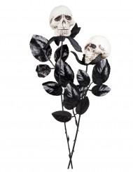 Rose tête de mort 45 cm Halloween