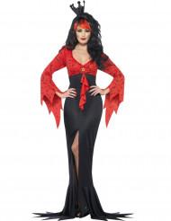Déguisement méchante reine chauve -souris femme Halloween