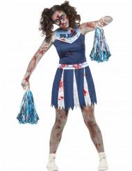 Déguisement pom-pom girl zombie adolescent Halloween