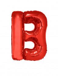 Ballon aluminium géant lettre B rouge 102 cm