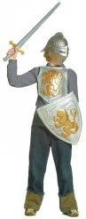 Kit chevalier gris et doré enfant