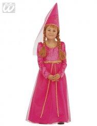 Déguisement princesse fée rose fille