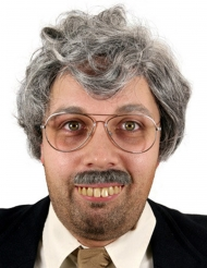 Dentier humoristique avec colle