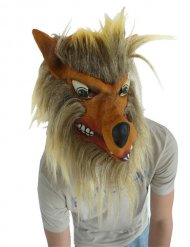 Masque de loup adulte