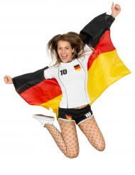 Cape de fan drapeau allemand 110 x 150 cm