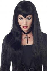 Perruque vampire gothique pour femme