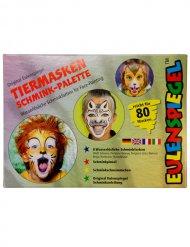 Palette de maquillage d'animaux - 10 couleurs - 40 g