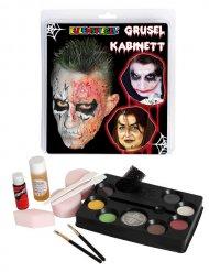 Coffret de maquillage d'horreur multicolore
