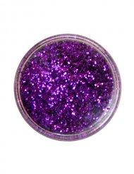 Paillettes de polyester violettes maquillage