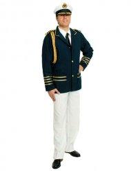 Déguisement uniforme capitaine homme