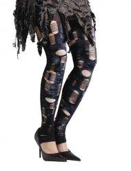 Collant zombie femme Halloween