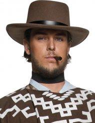 Chapeau shériff de l'ouest marron homme