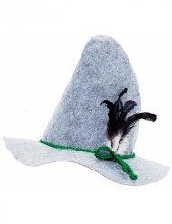 Chapeau bavarois à plume adulte