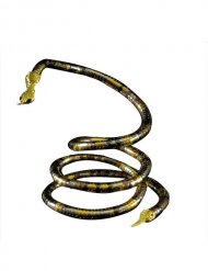 Collier serpent or adulte
