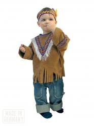 Déguisement indien western enfant brun