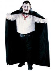 Cape vampire grande taille noir Halloween