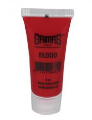 Faux sang rouge Grimas - 8ml