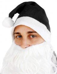 Chapeau Père-Noël noir adulte