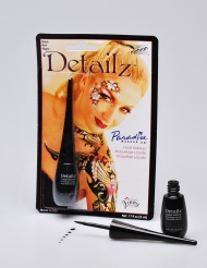 Maquillage liquide professionnel noir Mehron™ 7,5ml