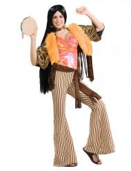 Déguisement hippie année 60-70 femme
