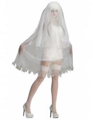 Déguisement  fantôme de mariée femme